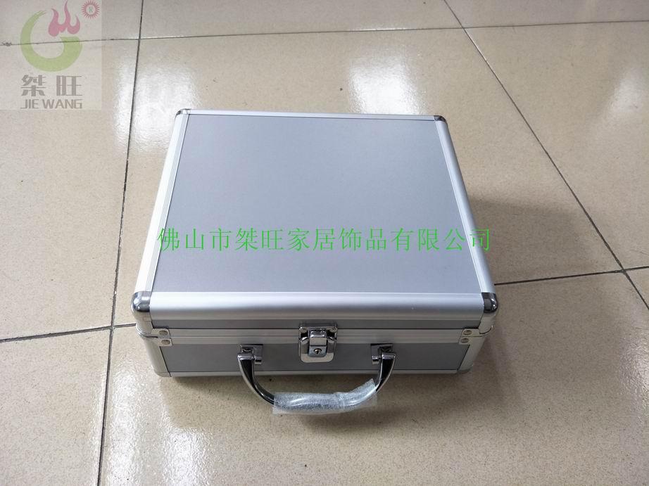 手提铝合金样品展示箱
